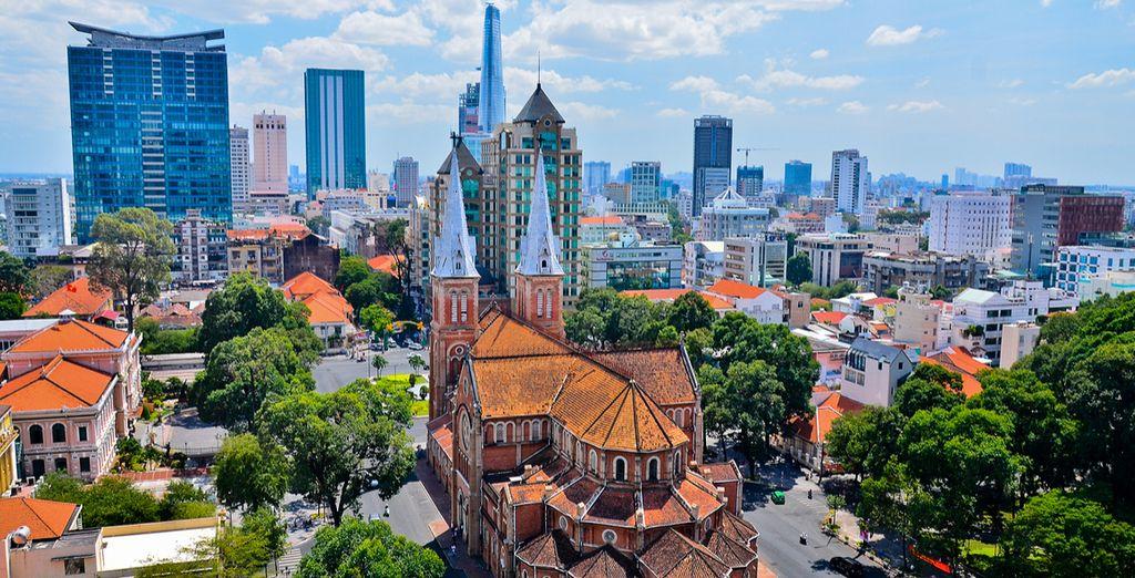 Erleben Sie die quirlige Stadt Ho Chi Minh City