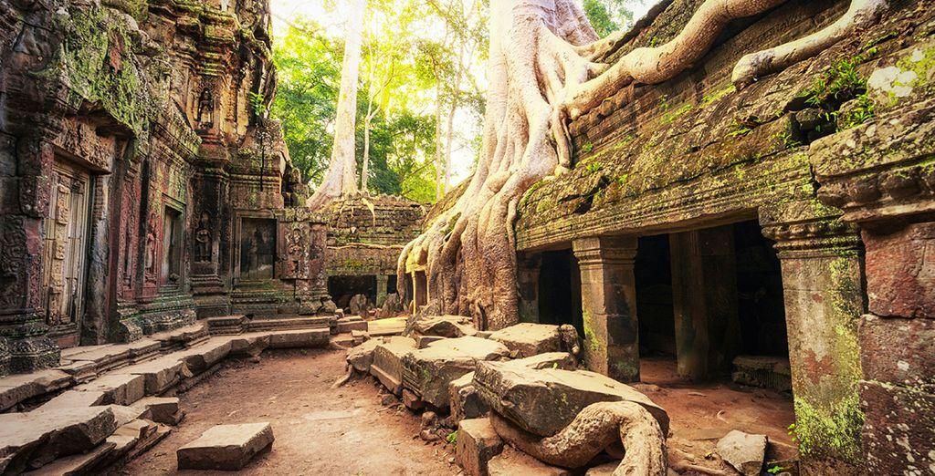 ... Marvel mit alten Tempeln...