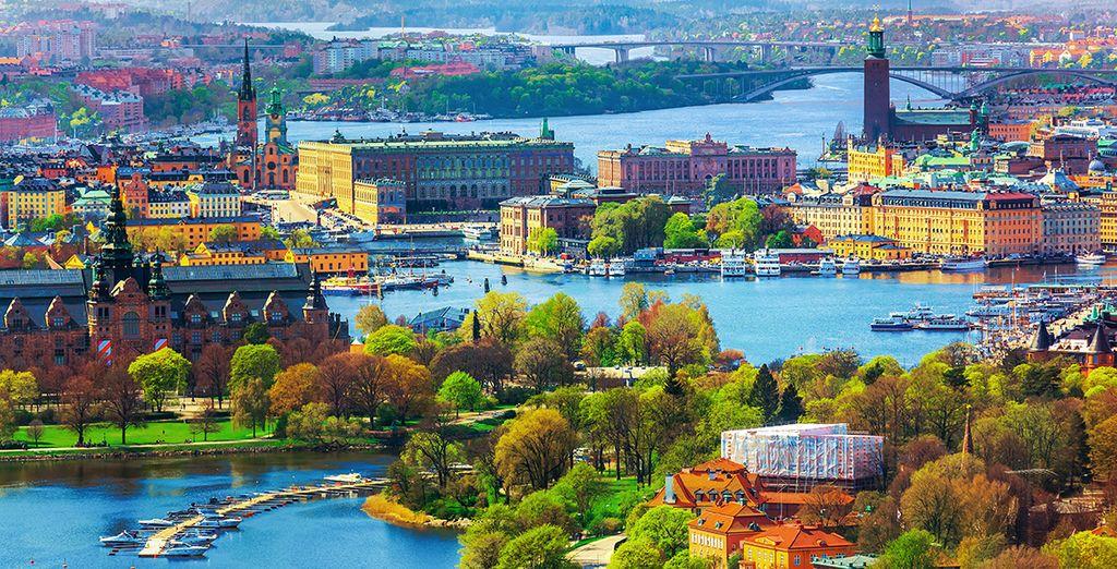 Alles im wundervollen Stockholm