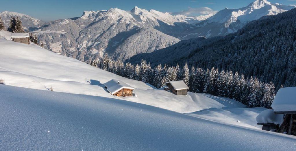 Im Winter können Sie hier wunderbar Ski fahren