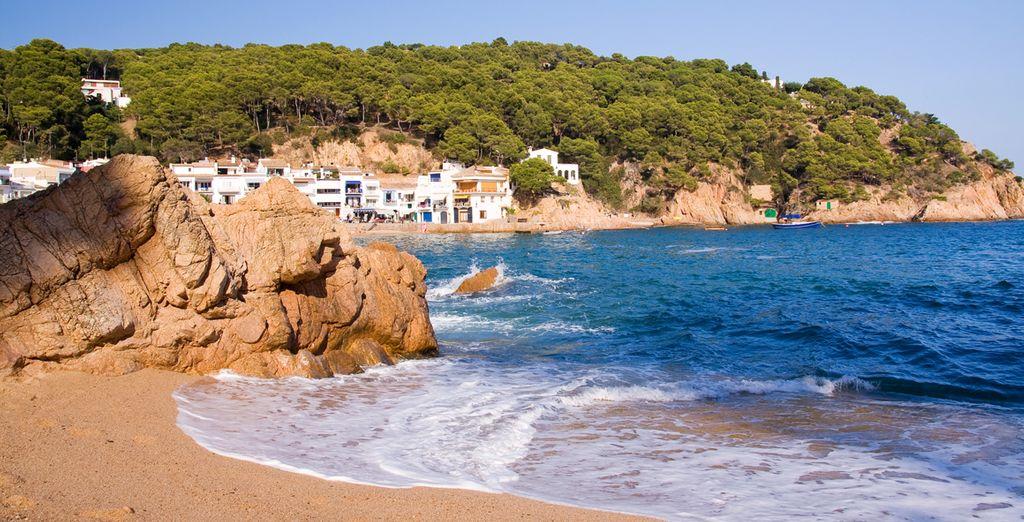 Relaxen Sie am Strand