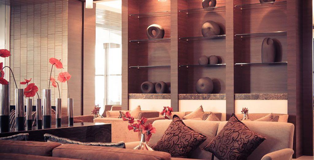 Das Hotel bietet Luxus pur