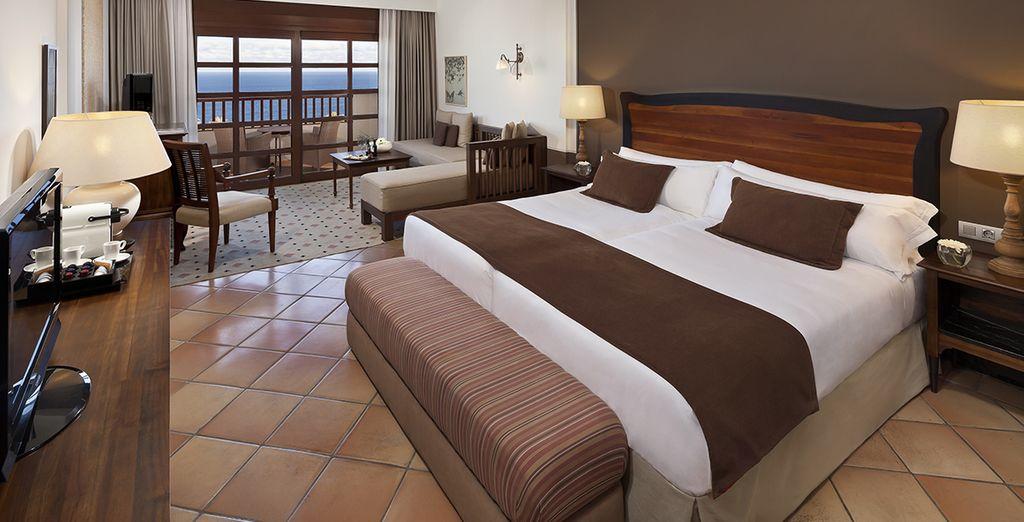 ... oder einem The Level Premium Zimmer mit Meerblick
