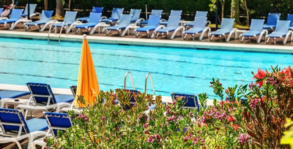 Ideal um sich am Pool zu entspannen