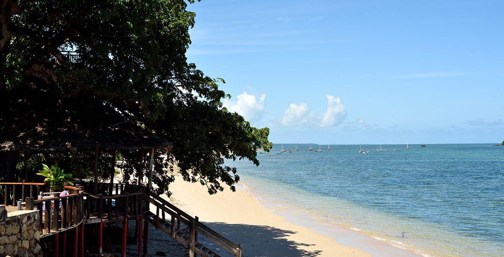 In diesem Naturschutzgebiet erwartet Sie ein wunderschöner Strand