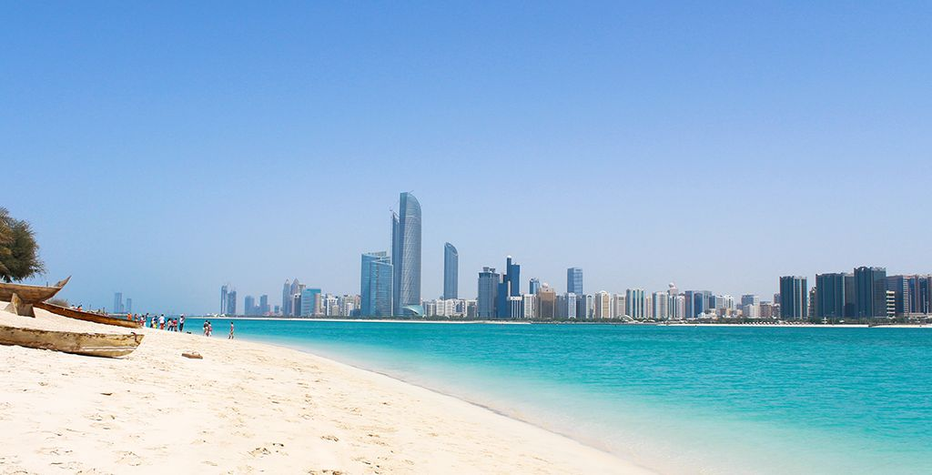 ... In Abu Dhabi!