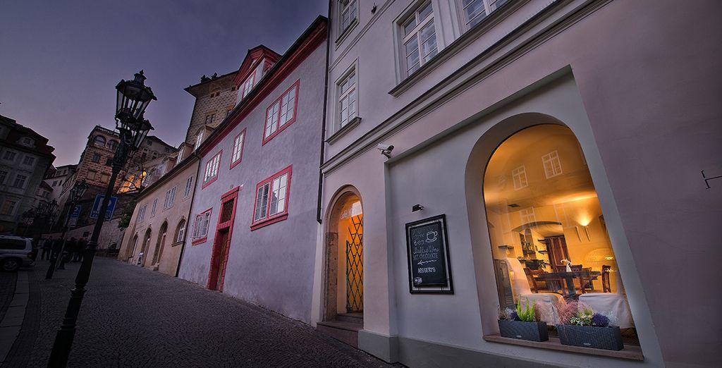 Machen Sie einen Stopp im Prager Chocolate Cafe & Bistro