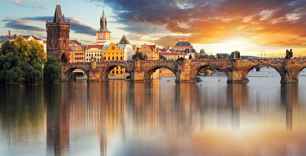 Wir wünschen Ihnen einen schönen Aufenthalt in Prag!