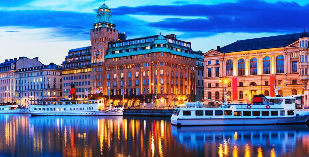 Entdecken Sie die schöne Stadt Stockholm