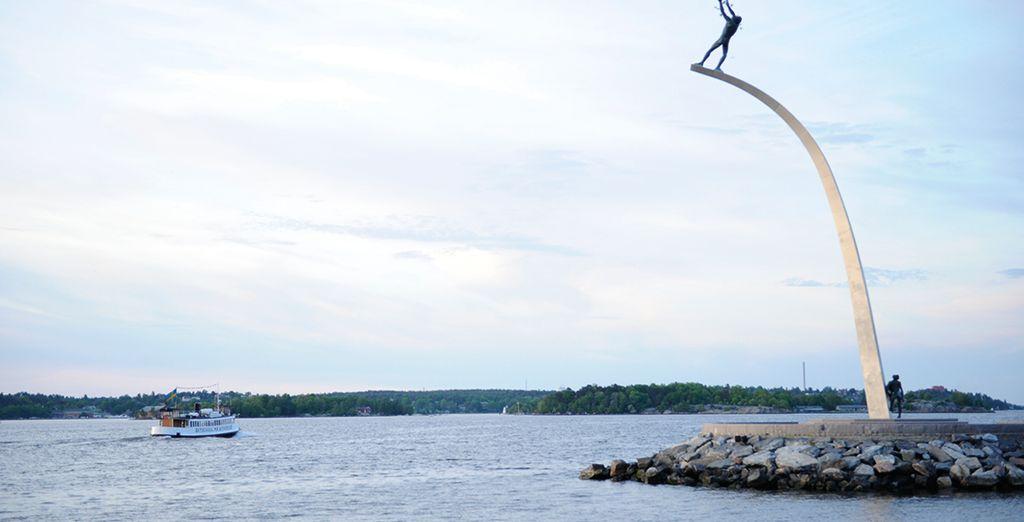 Sie sind nur eine 20-minütige Bootsfahrt vom Stadtzentrum von Stockholm entfernt