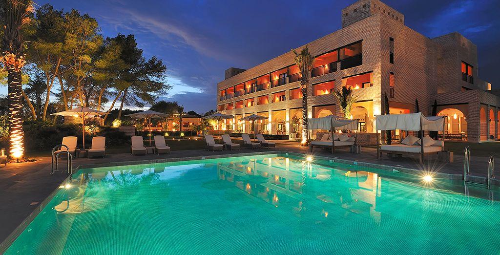 ... das schöne 5* Vincci Hotel