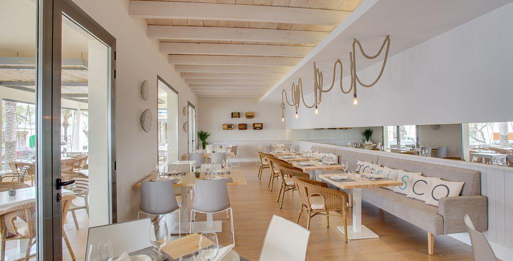 Das Restaurant le Marisco ust der perfekte Ort dafür