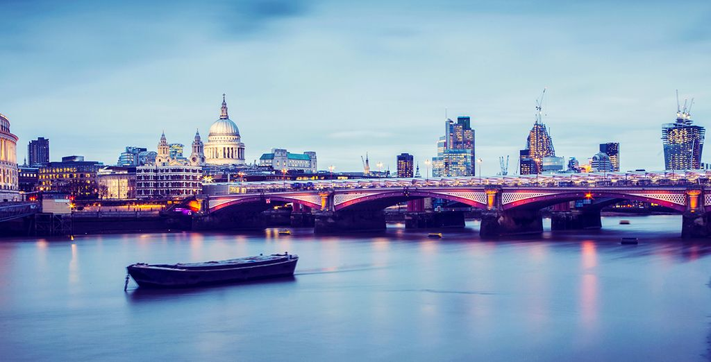 Wir wünschen Ihnen einen tollen Aufenthalt in London!