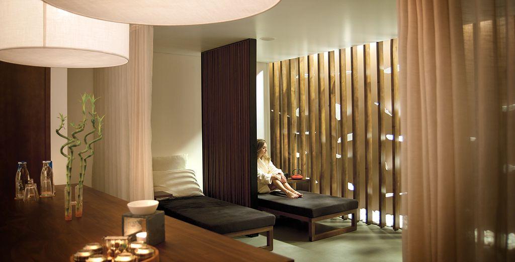 Entspannen Sie sich im Wellnessbereich des Hotels mit einer Behandlung