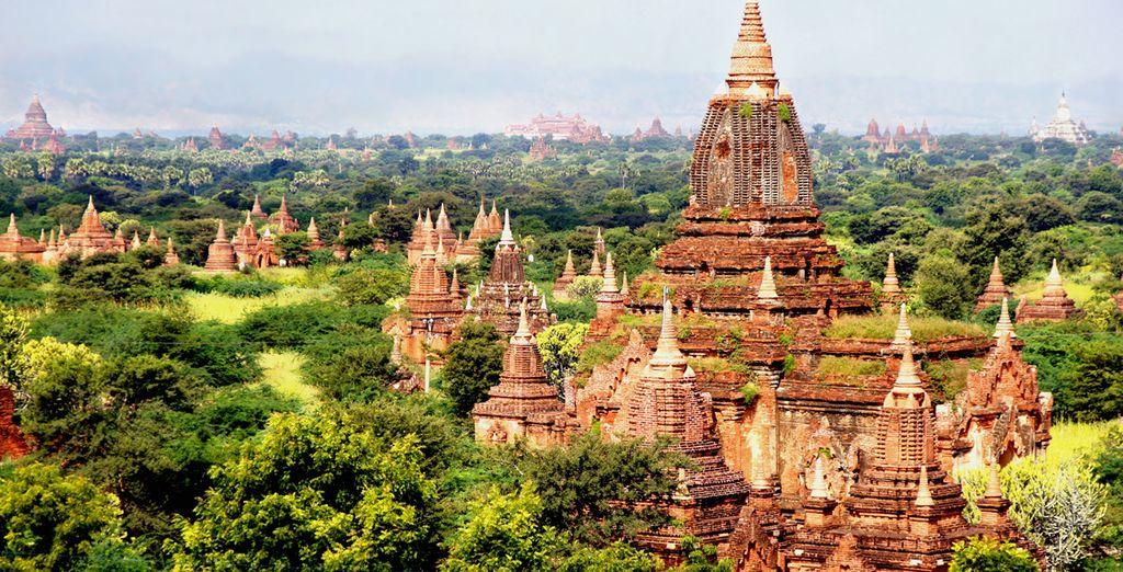 Entdecken Sie die Kultur Myanmars, indem Sie prächtige Tempel besuchen