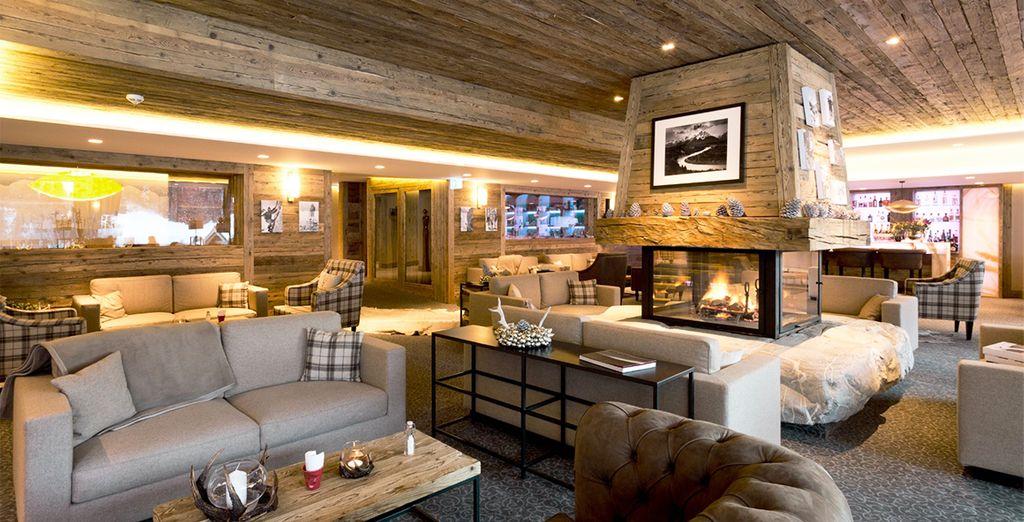 Herzlich Willkommen im Hotel de Rougemont 4*