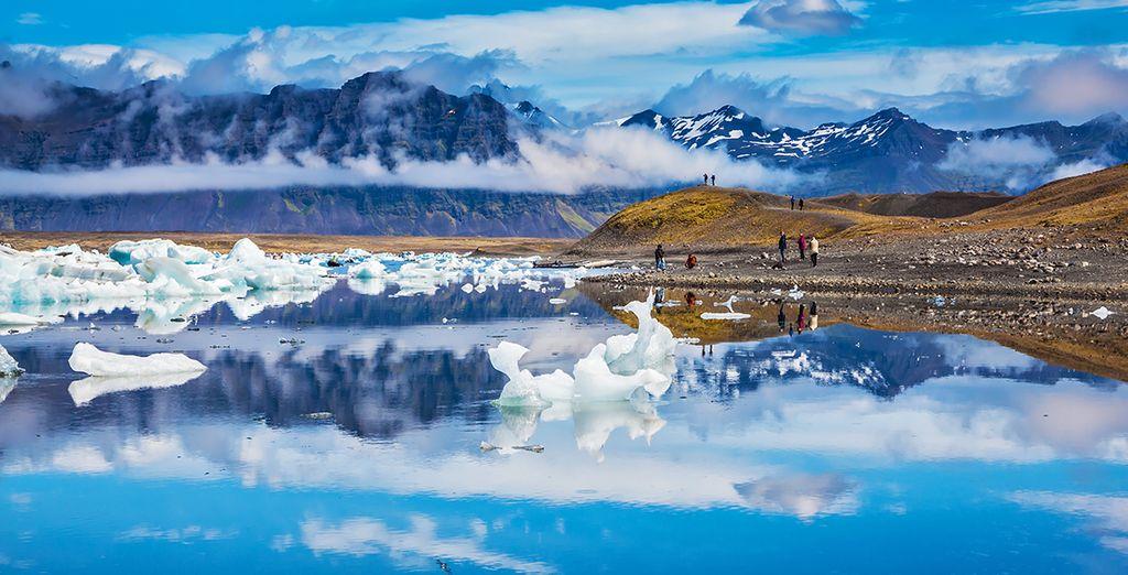 Entdecken Sie die Gletscher Islands auf Wanderungen