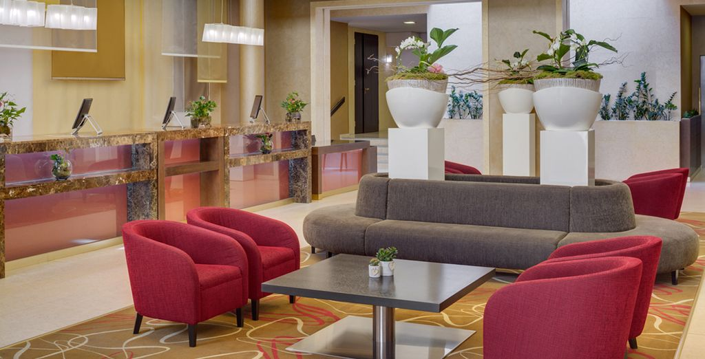 Ein berühmtes Hotel