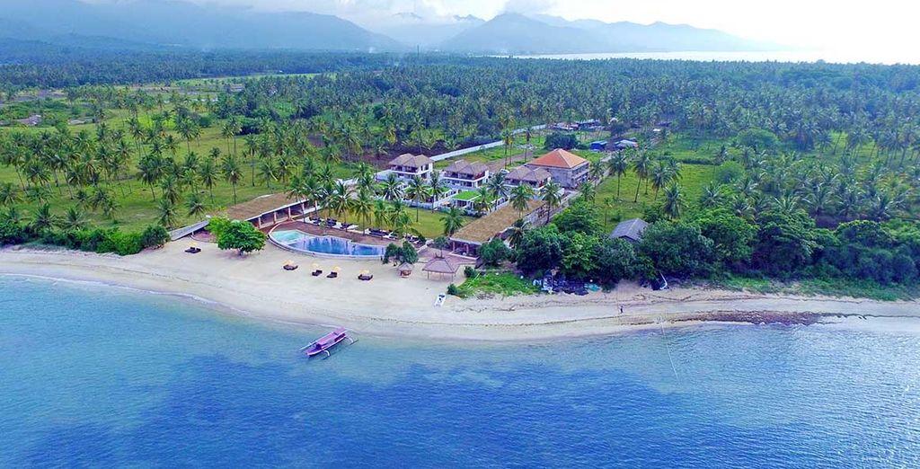 Dann erreichen Sie Lombok ... Willkpmmen im Anema Gili Lombok 4*