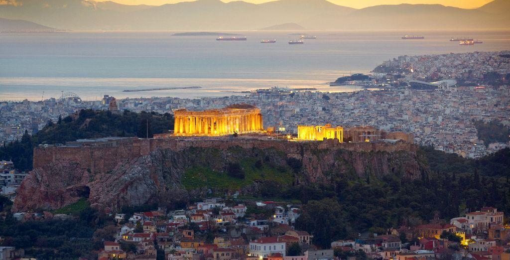 Akropolis - Griechenland urlaub