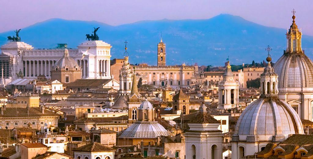 Genießen Sie Ihren Aufenthalt in Rom!