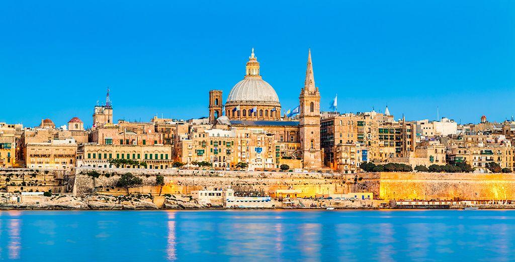 Oder besuchen Sie die maltesische Hauptstadt Valetta