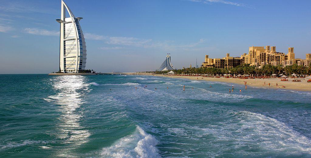 Wir wünschen Ihnen einen tollen Aufenthalt in Dubai!