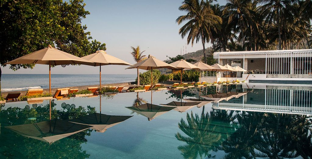 Das Living Asia Resort & Spa Lombok 4* ist ein weiterer Stop