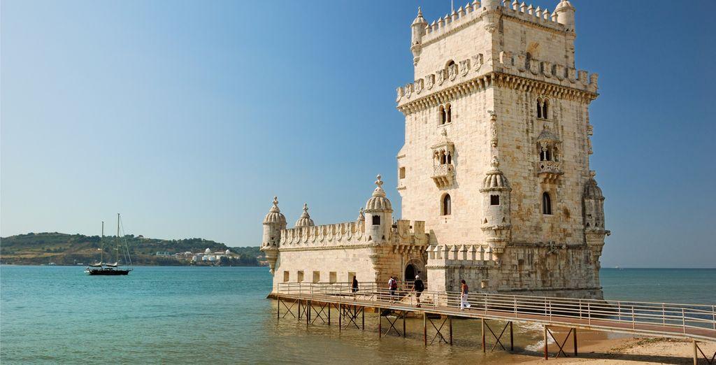 Machen Sie sich auf den Weg und erkunden Sie einige der berühmtesten Sehenswürdigkeiten der Stadt  ( Bild:Belem Tower)