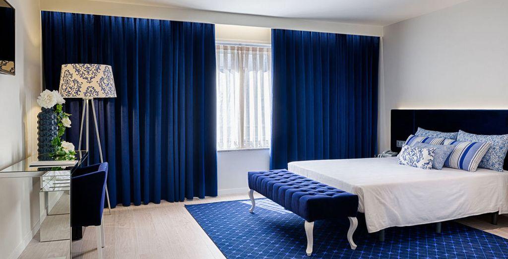 Sie können in diesem wundervollen Hotel entweder 2 oder 3 Nächte verbringen!