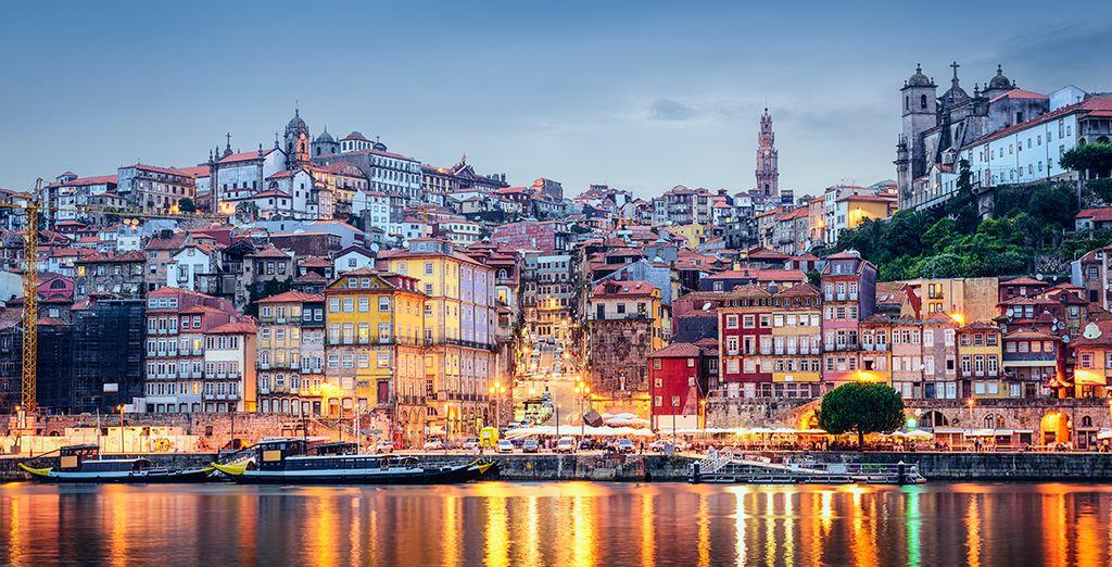 Porto ist eine romantische und wunderschöne Stadt