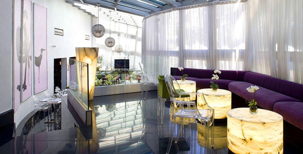 Einem 4*-Hotel, dessen Design ganz dem Zeitgeist entspricht