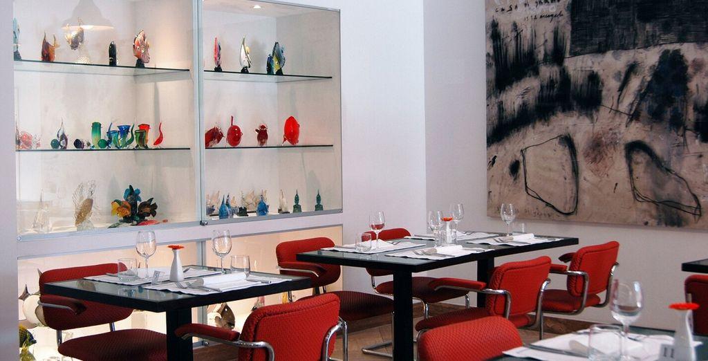 Kosten Sie die traditionelle Küche im hoteleigenen Restaurant