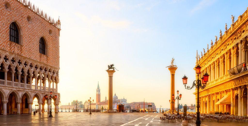 In unmittelbarer Nähe der Piazza San Marco