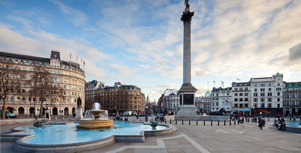 Besuchen Sie die berühmte Metropole London!