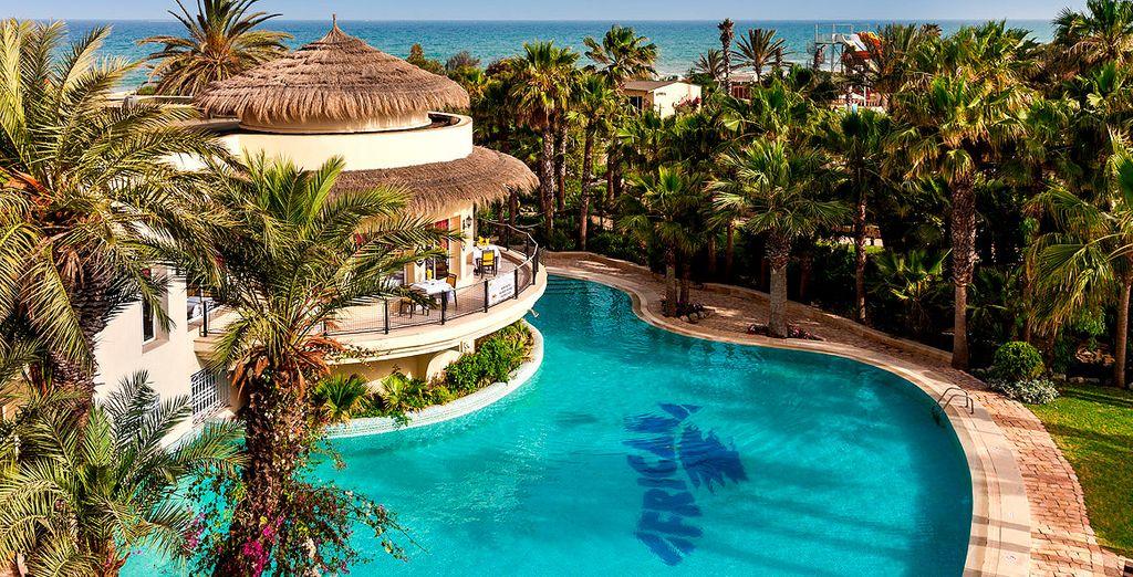 Das Hotel Club Magic Life Africana 5* heißt Sie herzlich willkommen!