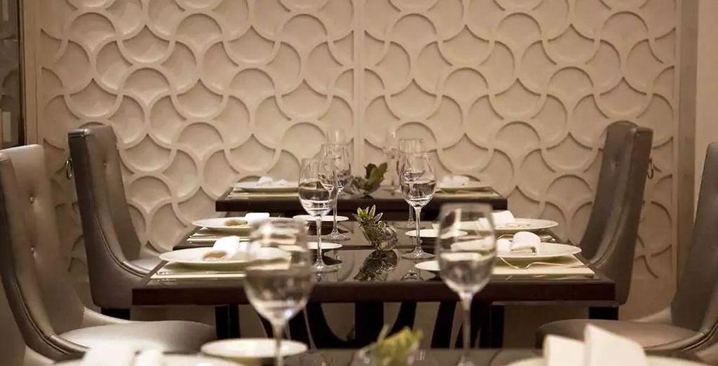 Oder probieren Sie galizische Spezialitäten im hoteleigenen Restaurant