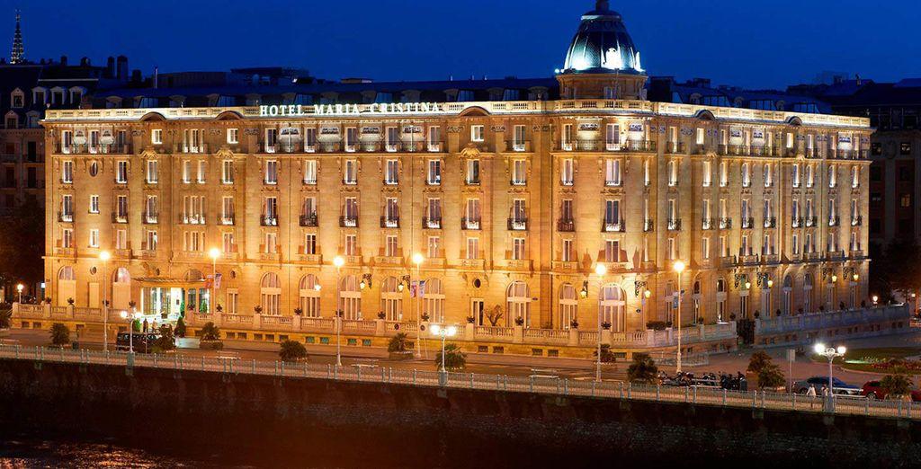 Wir wünschen Ihnen einen schönen Aufenthalt in San Sebastian!