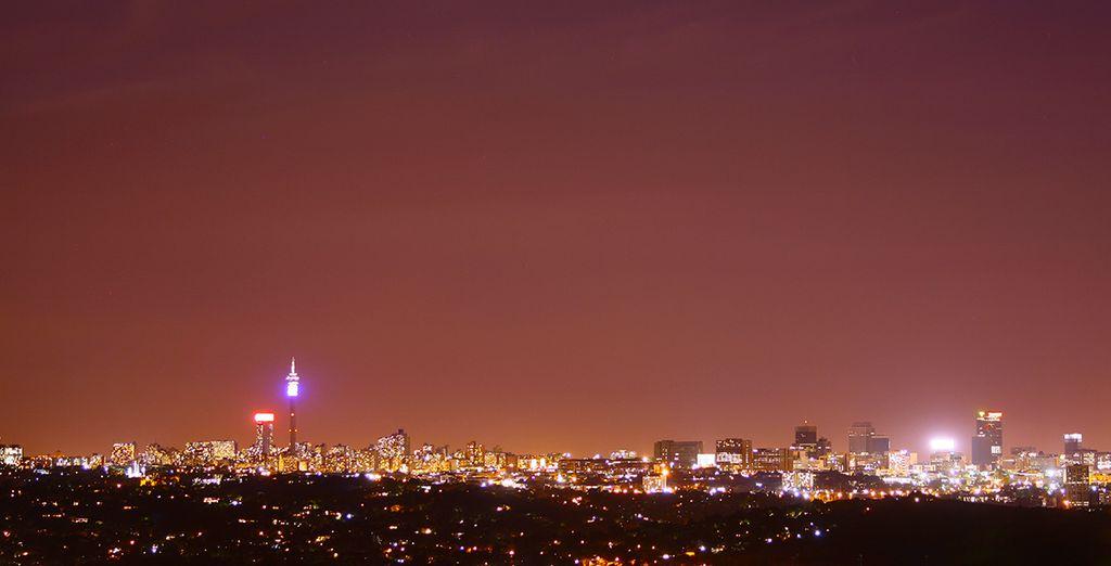 Ihr Abenteuer beginnt in Johannesburg