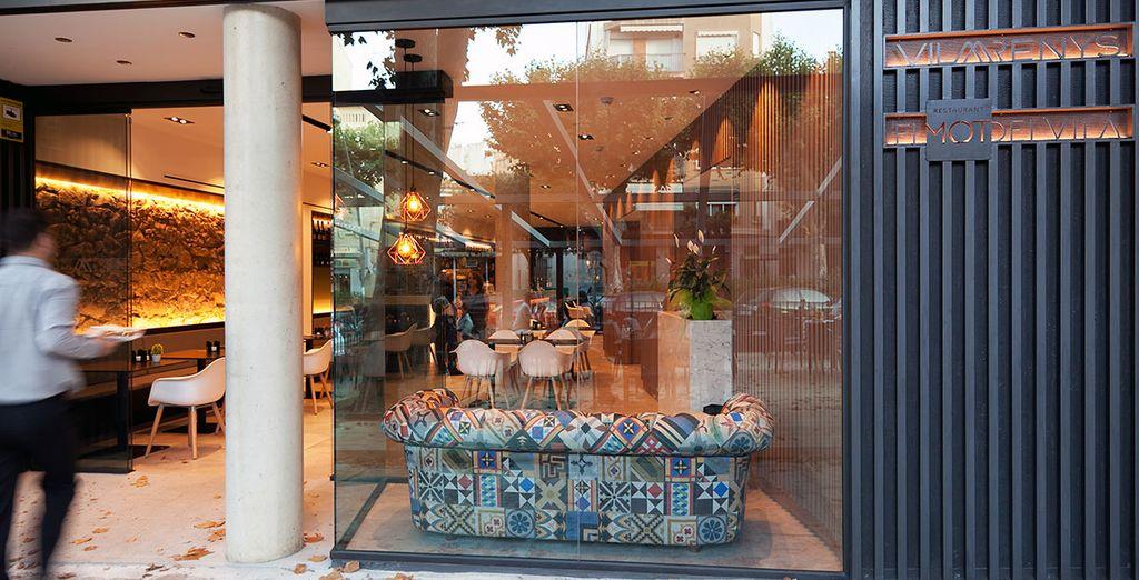 Das exzellente Restaurant El MOT liegt im Herzen von Arenys...