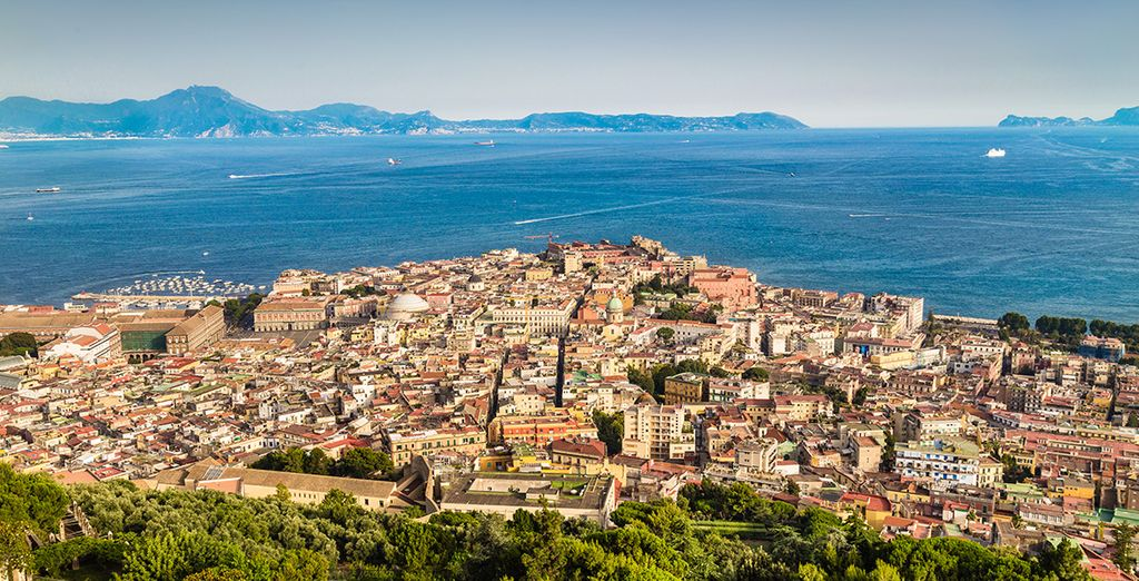 Das Hotel ist ein guter Ausgangspunkt für die Erkundung von Neapel und Umgebung