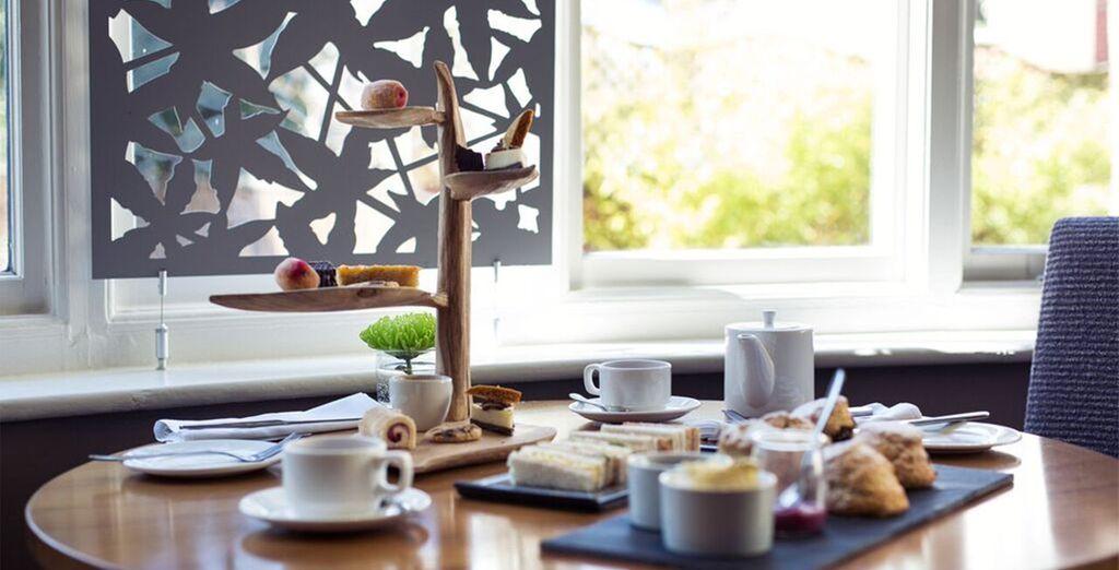 Machen Sie eine Teepause am Nachmittag