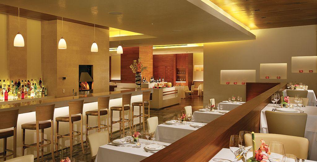 Probieren Sie die Köstlichkeiten der Hotelrestaurants