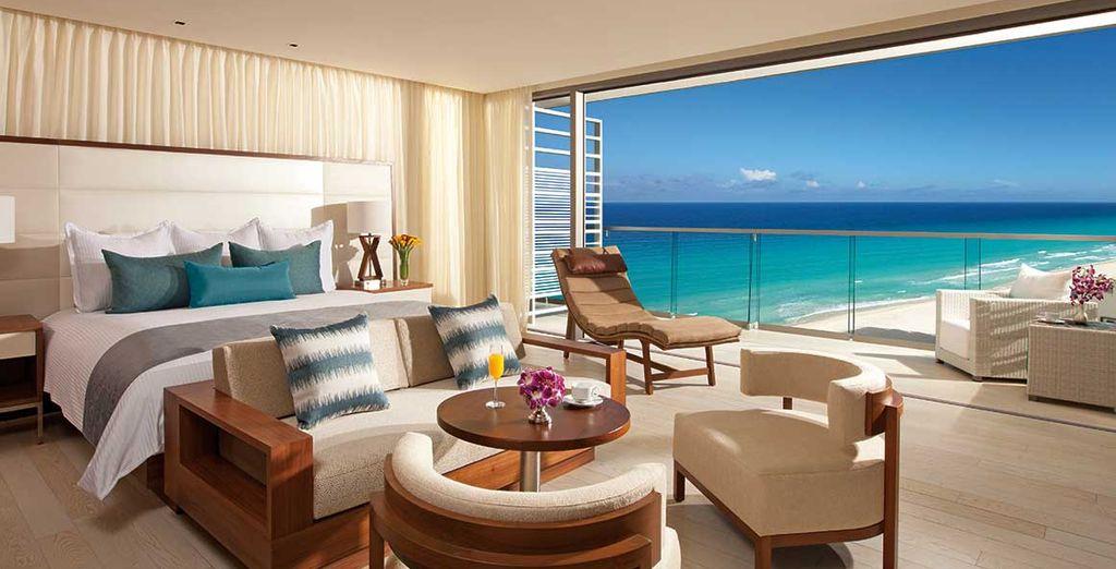 Herzlich Willkommen in Cancun! Genießen Sie einen sagenhaften Ausblick...