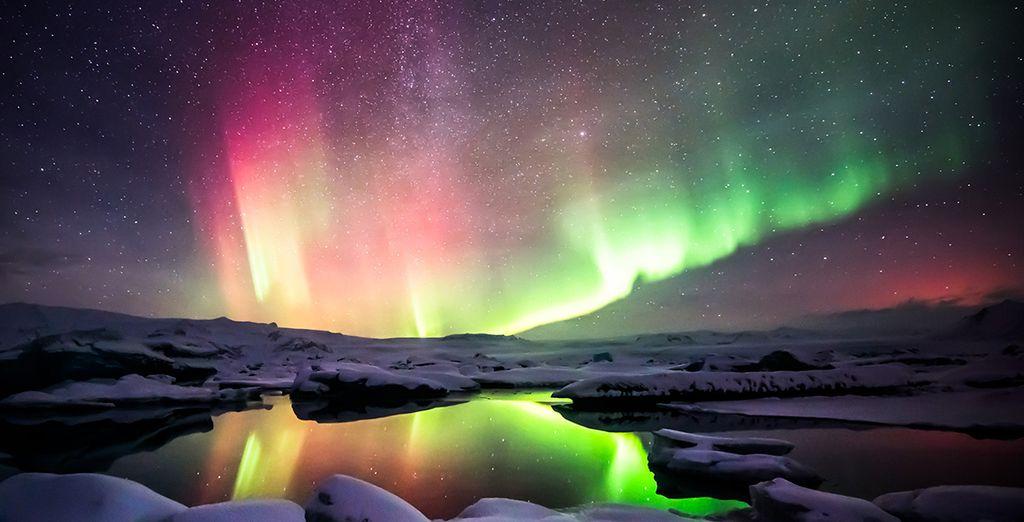 Begeben Sie sich auf die Jagd nach den Polarlichtern