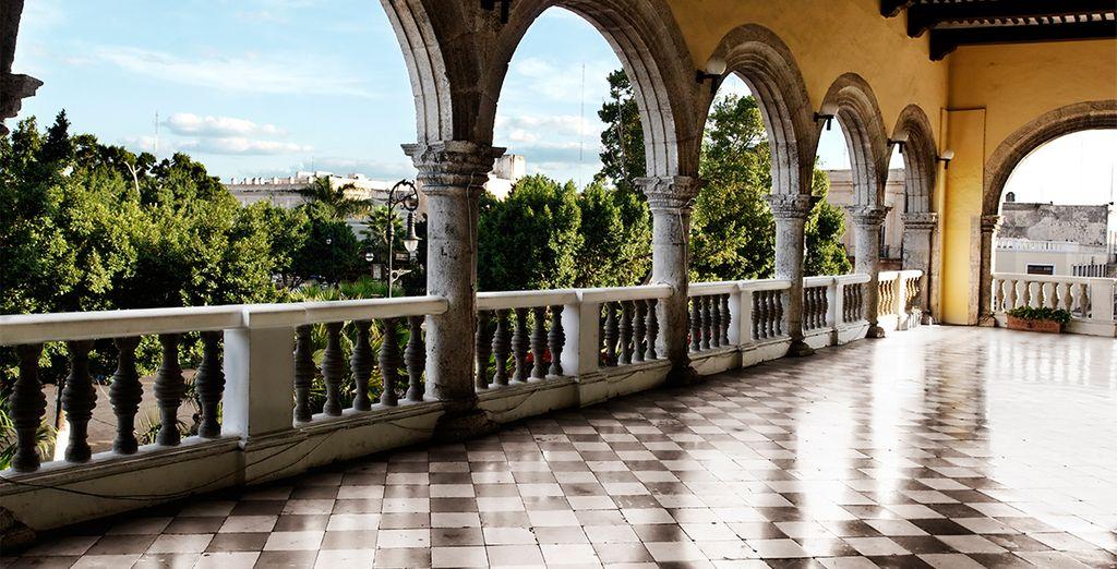 Besichtigen Sie die charmante Kolonialstadt Merida
