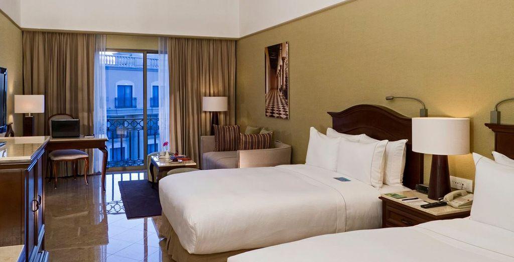Genießen Sie den Komfort von 4* Hotels