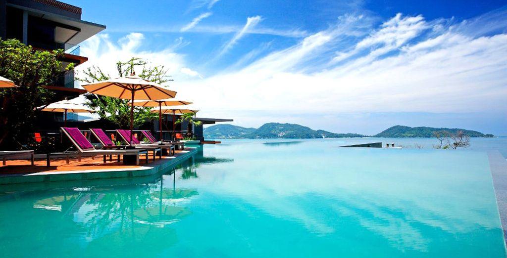 Fernweh? Relaxen Sie in Thailand in dem Infinity-Pool