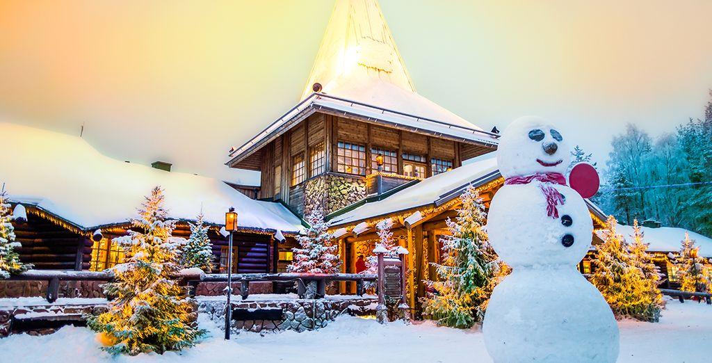 Sie starten in Rovaniemi, der Heimat vom Weihnachtsmann