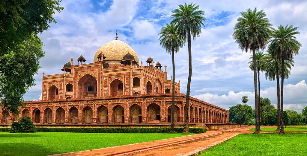 Ihre Reise startet in Delhi